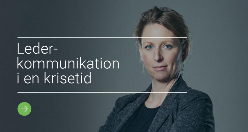 Lederkommunikation i krisetid - Annette Bjerre Andersen Ryhede ARTIKULATION